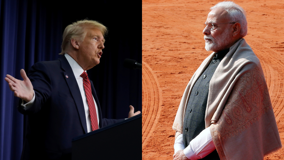 Art of the deal? Trump boasts Facebook supremacy over Modi ahead of India visit to ink trade & weapons sales