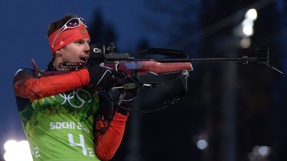 Shot down: Russia set to lose top spot in Sochi Olympics medals table AGAIN after biathlete Ustyugov accused of doping