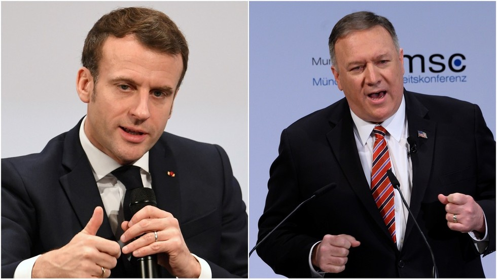 'Winning' or 'weakening'? Pompeo and Macron divided over what the future holds for the West