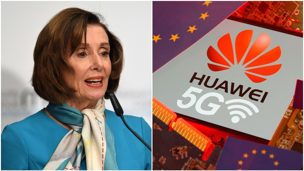 'Is the democratic system so fragile?' Audience applauds as Pelosi's Huawei scare session prompts rebuke from Chinese delegate
