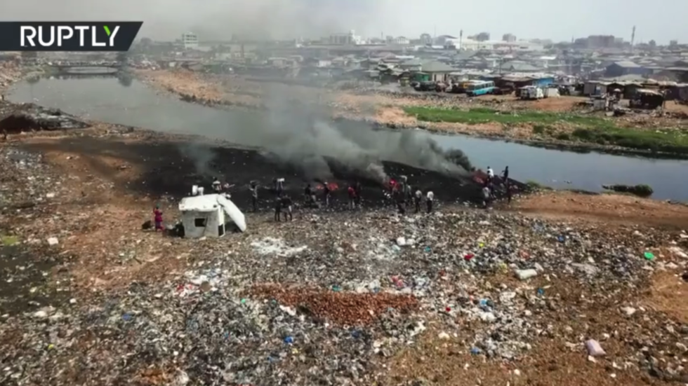 Toxic dump: First-world electronics scrapyard in Ghana puts THOUSANDS at risk of cancer