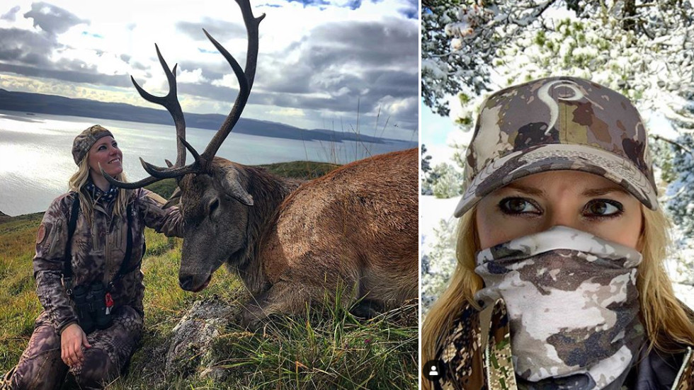 Oh ire of Scotland: US huntress who invoked online OUTRAGE for posing with dead animals in UK avoids prosecution