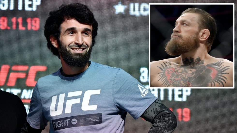 Zabit Magomedsharipov says he's happy at featherweight, but would move up to lightweight to face Conor McGregor