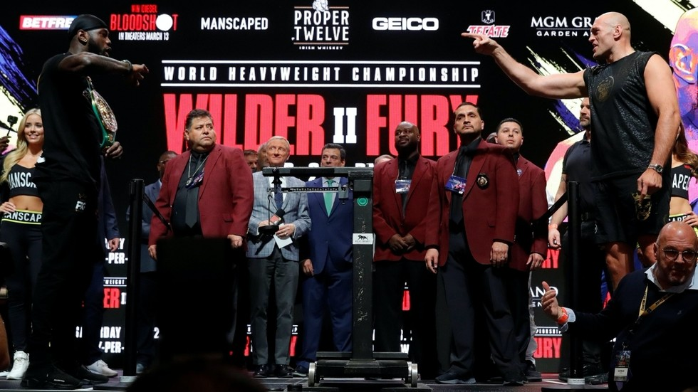 Wilder vs. Fury 2: Both fighters come in heavier for heavyweight championship rematch in Las Vegas