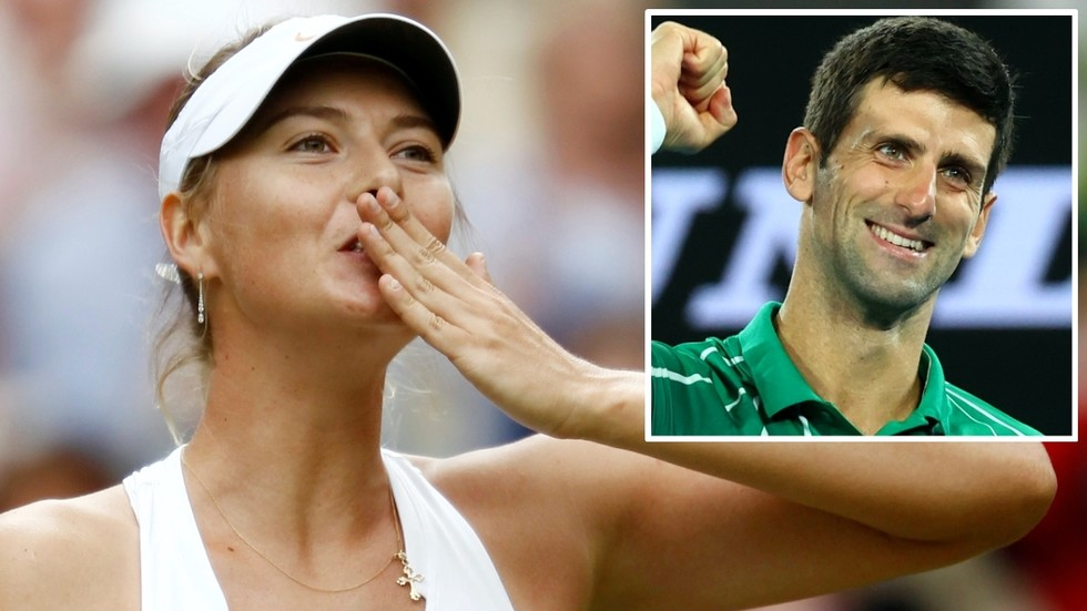 'She is a legend of the sport': Novak Djokovic leads tributes to Maria Sharapova upon her retirement