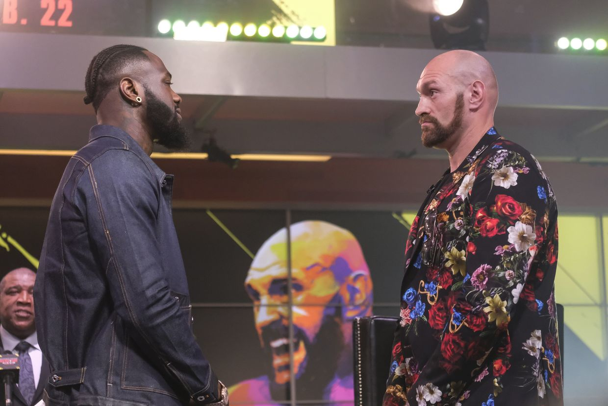 Tyson Fury: Deontay Wilder is Terrified. He's Nervous as Hell