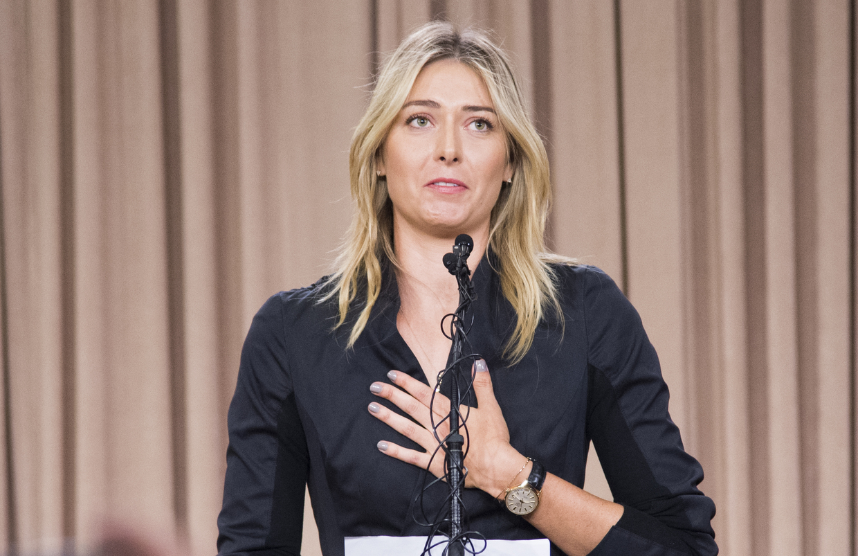 WTA CEO Simon pays tribute to retired Sharapova