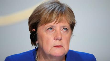 German Chancellor Angela Merkel. December 2019. © Reuters / Pool / Charles Platiau