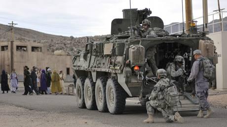 FILE PHOTO: US troops in Afghanistan. © Reuters / Ryan Hallock