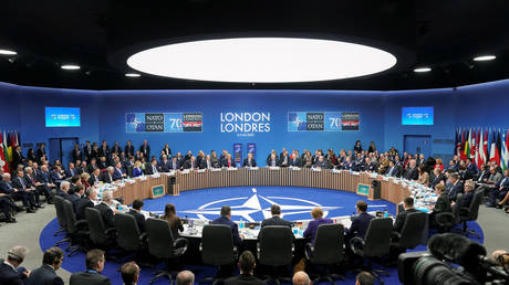 A general view during the NATO leaders summit in Watford, Britain, December 4, 2019.