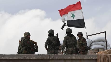 FILE PHOTO: Soldiers of the Syrian army outside Aleppo.  ©  Sputnik / Mikhail Voskresenskiy