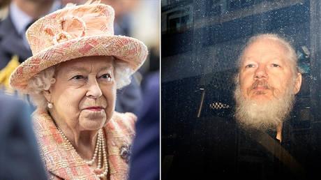 Queen Elizabeth II and Julian Assange © Reuters / Richard Pohle and Henry Nicholls