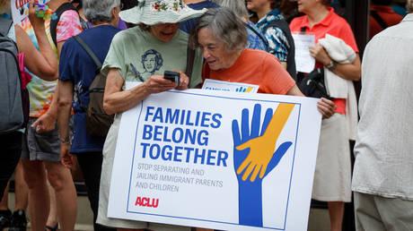 ACLU doing something other than its job © Global Look Press / Michael Candelori