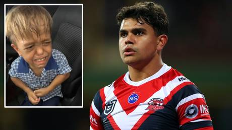 Australian rugby league star Latrell Mitchell sent a message of support to Quaden Bayles
