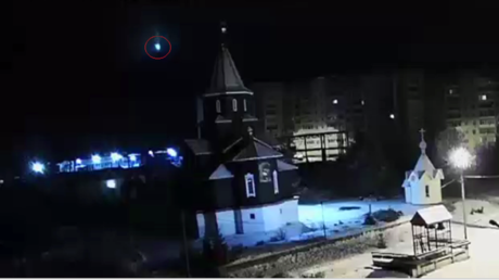 Meteorite illuminates skies over northern Russia with mysterious blue light (VIDEO)