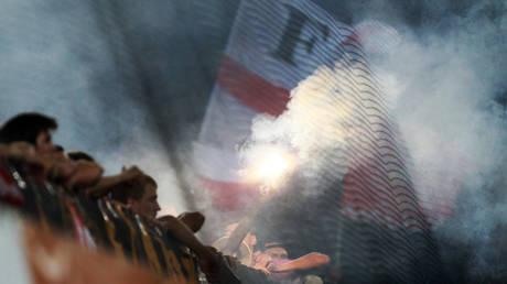 File Photo. Spartak fans © Sputnik / Anton Denisov