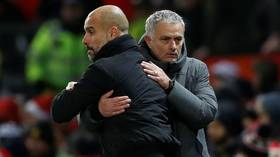 'It's not about Jose vs Pep': Mourinho preaches peace ahead of latest clash with Guardiola - but rivalry has been an explosive one
