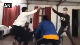 WATCH Indian students DANCE in coronavirus quarantine facility after being evacuated from Wuhan