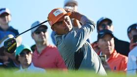 'Big D*ck Rick!' Golf ace Rickie Fowler sinks putt as crowd serenades him with X-rated chant in Arizona (VIDEO)