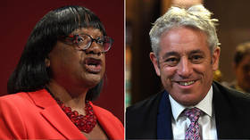 Diane Abbott suffers Bercow 'bullying' backlash after suggesting high-ranking soldiers are immune to intimidation