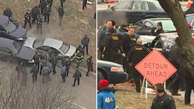 Two in custody after police CAR CHASE at Kansas City Chiefs Super Bowl LIV victory parade (VIDEO)