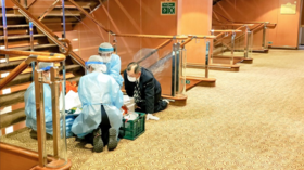 10 MORE people diagnosed with coronavirus aboard cruise ship quarantined off Japan with 3,700 passengers & crew