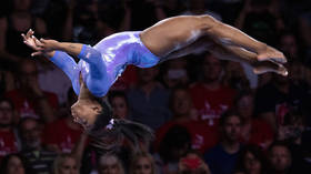 Breaking the barriers: Simone Biles attempts INSANE vault previously only done by men (VIDEO)