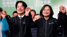 Beijing hits out at Taiwanese vice president-elect's White House visit