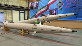 Weighs less & packs more range: Iran unveils new ballistic missile with composite-built engine (VIDEO)