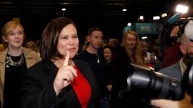 Sinn Fein preference is to form Irish left-wing govt – leader