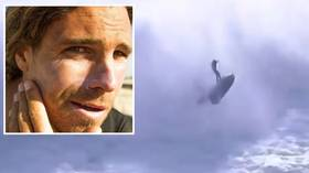 Alex Botelho: Surfer left unconscious after terrifying jet ski accident at big wave event (VIDEO)