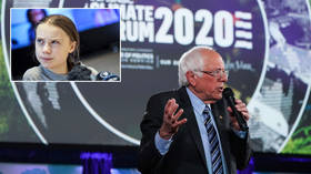 Prank call Greta strikes again: Bernie 'agrees' to rap collaboration with Eilish & West, but smells a rat over 'KGB sleeper agent'
