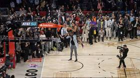 'Absolutely robbed!' Fans fume as Aaron Gordon controversially denied NBA slam dunk title despite INCREDIBLE final effort (VIDEO)