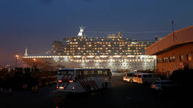 Woman on board cruise ship in Japan is first Russian citizen diagnosed with new coronavirus