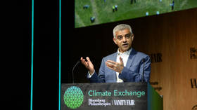 London Mayor Khan puts knife crime in the 'too tough' tray and takes on climate change for votes in election run-up