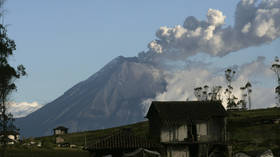 'Throat of fire' volcano signalling imminent, devastating COLLAPSE