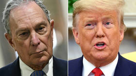 'Impeached president says what?' Bloomberg hits back at Trump 'Mini Mike the pathetic debater' jibe