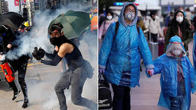 Slavoj Zizek: What the coronavirus outbreak has in common with the protests in France and Hong Kong