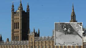 WATCH harrowing footage of 2007 Baghdad killings projected onto UK parliament wall in protest against Assange's extradition