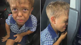 Heart-wrenching video of boy with dwarfism threatening suicide as mum admits despair is no shock to this father of a disabled kid