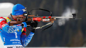 Italian police search surging Russian biathlete Loginov HOURS before race