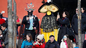 Party masks off, medical on: Venice shutters famed carnival as coronavirus gains foothold in Italy
