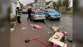 Car rammed German parade crowd in 'attack' injuring dozens, no sign was politically-motivated – police (VIDEO)