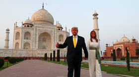 Wrong dimensions: Trump reportedly misses out on inspecting Taj Mahal graves due to his HEIGHT