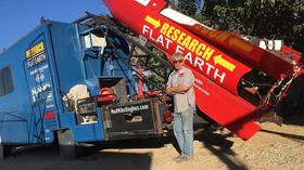 Flat-Earther 'Mad' Mike Hughes killed in crash-landing after homemade rocket launch (VIDEO)