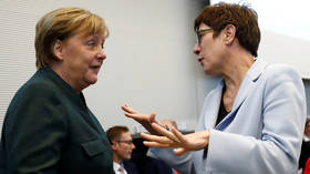 Merkel should remain chancellor 'until end of term' – party leadership