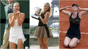 Teen triumphs, tussles with Serena, and colossal earnings: Maria Sharapova's remarkable career in pictures