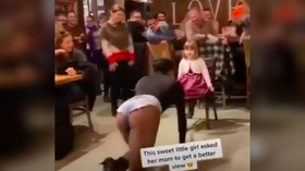 'Kid looks traumatized': Viral TikTok video showing drag queen dancing for little girl enrages Twitter