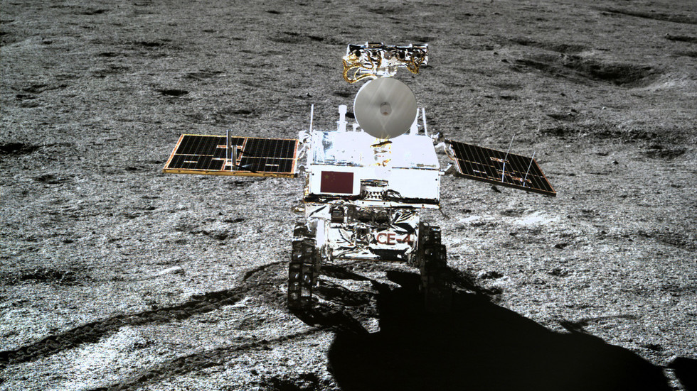 China's Yutu-2 rover sets off for UNEXPLORED areas as Chang'e 4 mission reawakens on far side of Moon thumbnail