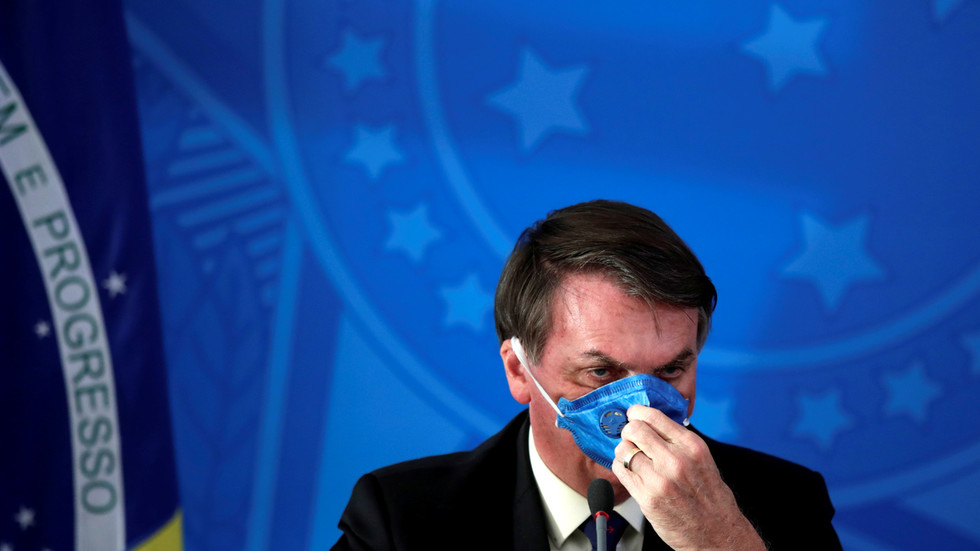 Twitter REMOVES posts by Brazil's Bolsonaro in crackdown on information that may increase risk of Covid-19 spread